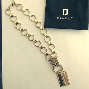 Dannijo Elisa necklace Gold Rachel Zoe Box Style